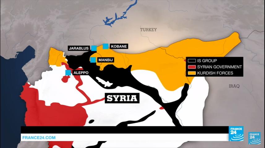 plattegrond, jarabloes, manbij, turkije