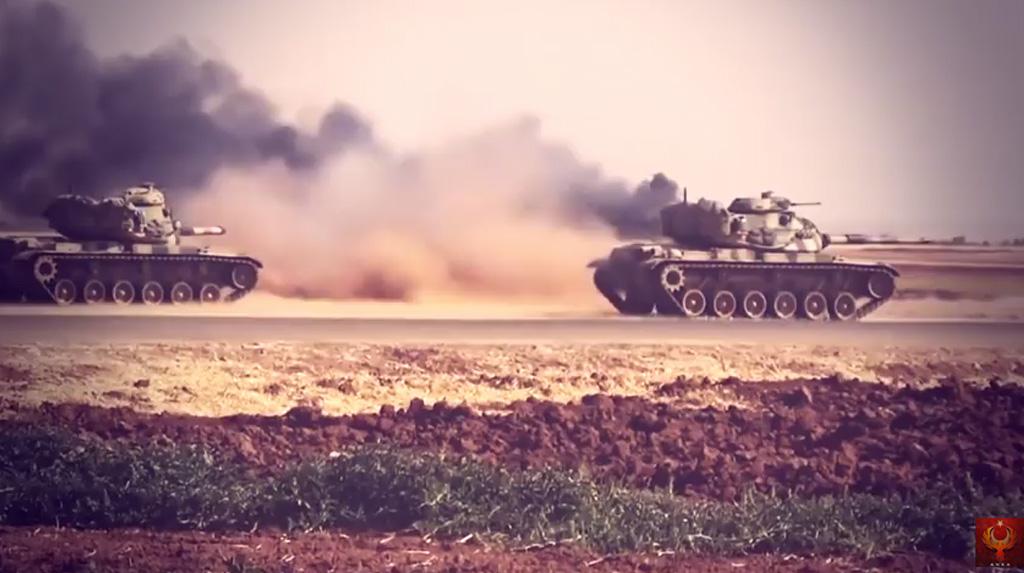 Turkije, Euphrates Shield