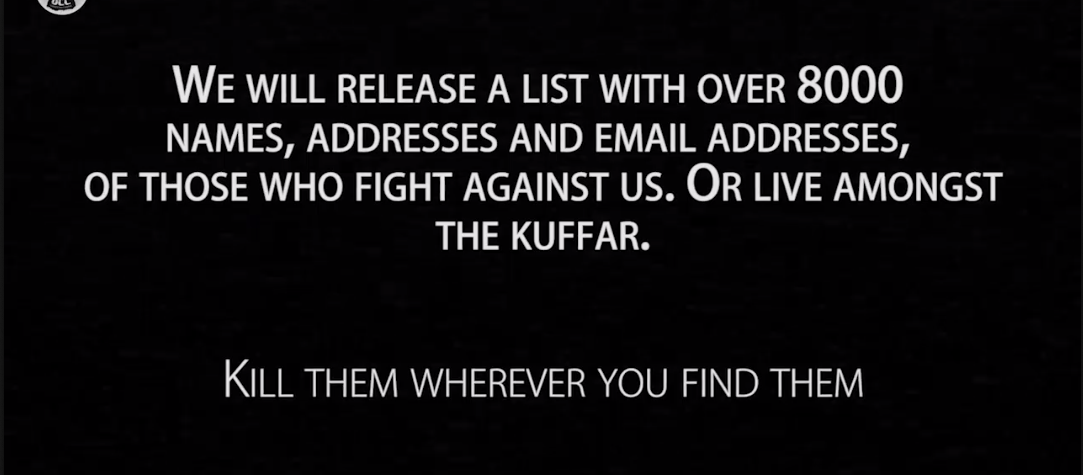 Hoe het hackerscollectief van IS een lijst vol spam verspreidde